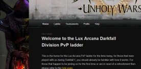 Lux Arcana Darkfall Division PvP ladder launched