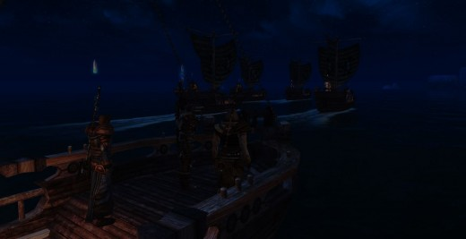 Sailing out to kill the kraken