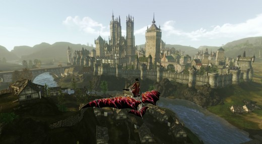 archeage how to get to haranya