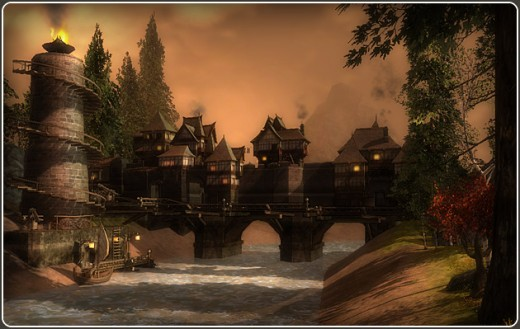 Darkfall world